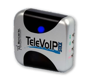 TeleVoIP Stick - Internet Protocol technology with existing